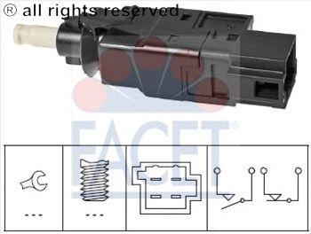 Выключатель фонаря сигнала торможения FACET 7.1260