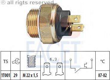 Датчик включения вентилятора FACET 7.5017