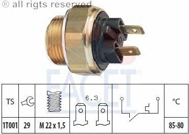 Датчик включения вентилятора FACET 7.5018