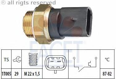 Датчик включения вентилятора FACET 7.5102