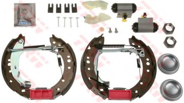 Тормозные колодки TRW GSK1063