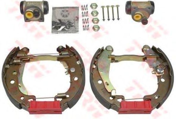 Тормозные колодки TRW GSK1248