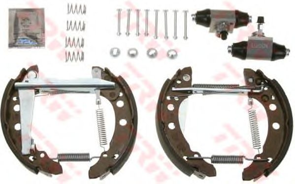 Тормозные колодки TRW GSK1500