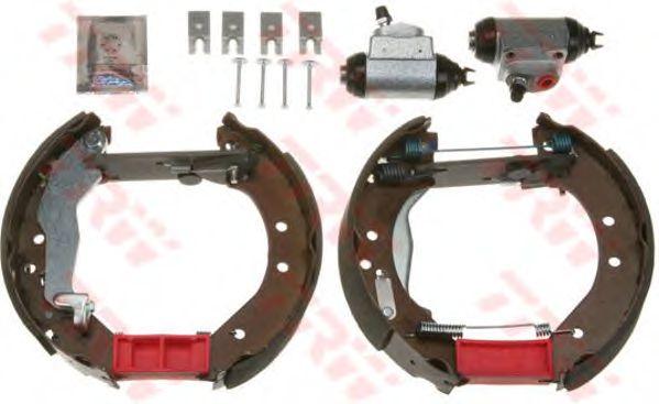 Тормозные колодки TRW GSK1861