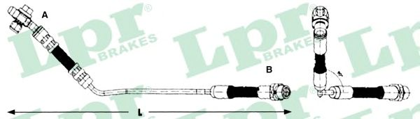 Тормозной шланг LPR 6T47862