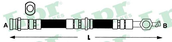 Тормозной шланг LPR 6T46281