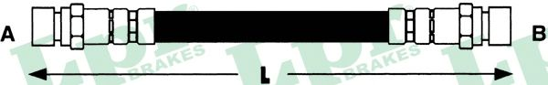 Тормозной шланг LPR 6T46581
