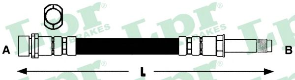 Тормозной шланг LPR 6T46592