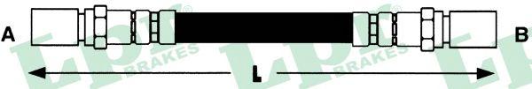 Тормозной шланг LPR 6T46680