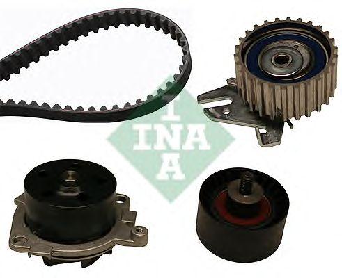 Помпа + комплект ГРМ INA 530 0227 30