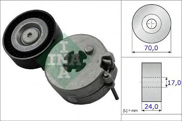 Натяжитель поликлинового ремня INA 534 0333 10