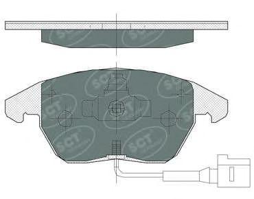 Тормозные колодки SCT Germany SP 367