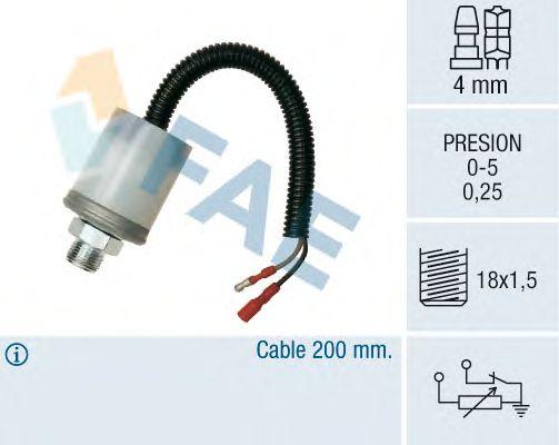 Датчик давления масла FAE 14090