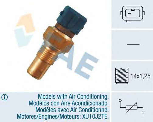 Датчик температуры охлаждающей  жидкости FAE 32380