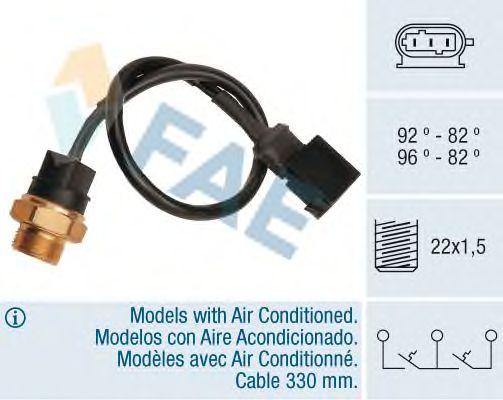 Датчик включения вентилятора FAE 38260
