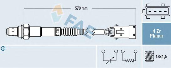 Лямбда-зонд FAE 77283