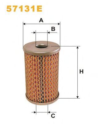 Фильтр масла гидроусилителя (ГУР) WIX FILTERS 57131E