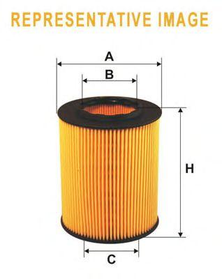 Масляный фильтр WIX FILTERS WL7493