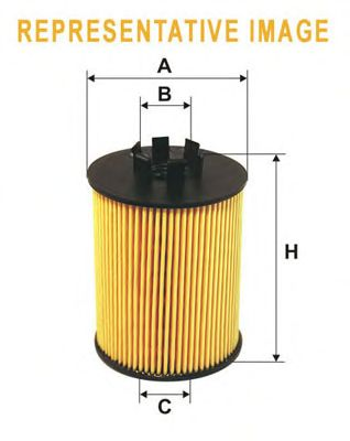 Масляный фильтр WIX FILTERS WL7474