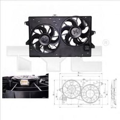 Вентилятор охлаждения TYC 810-0002