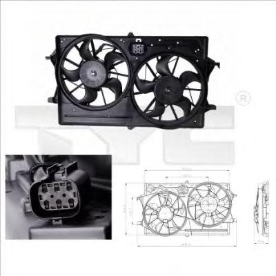 Вентилятор охлаждения TYC 810-0016