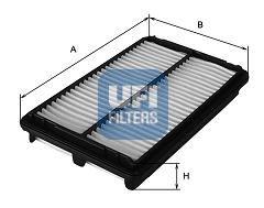 Воздушный фильтр UFI 30.383.00
