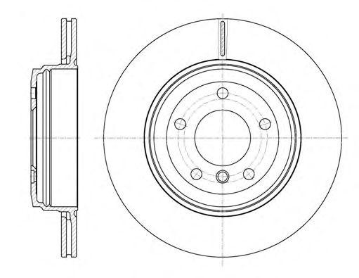 Тормозной диск REMSA 6654.10
