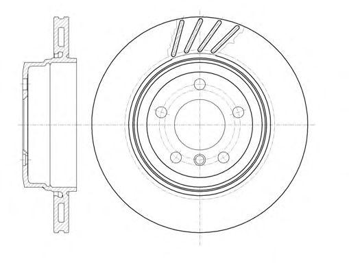 Тормозной диск REMSA 6979.10