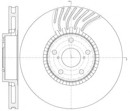 Тормозной диск REMSA 61179.11