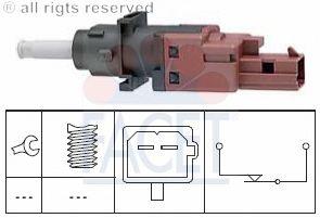 Выключатель FACET 7.1170 (фонарь сигнала торможения, привод сцепления)