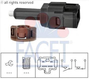 Выключатель фонаря сигнала торможения FACET 7.1261