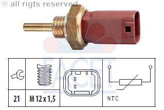 Датчик температуры охлаждающей жидкости (ДТОЖ) FACET 7.3242