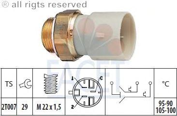 Датчик включения вентилятора FACET 7.5688