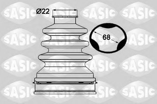 Комплект пыльника ШРУСа SASIC 1904027