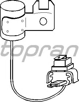 Конденсатор зажигания TOPRAN 101 020