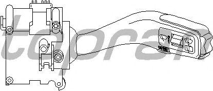 Переключатель стеклоочистителя TOPRAN 110 105