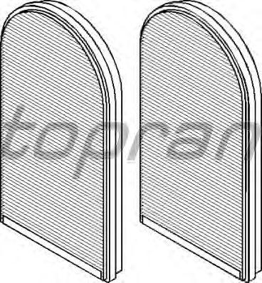 Фильтр салона TOPRAN 500 223