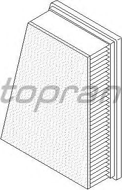 Воздушный фильтр TOPRAN 700 666