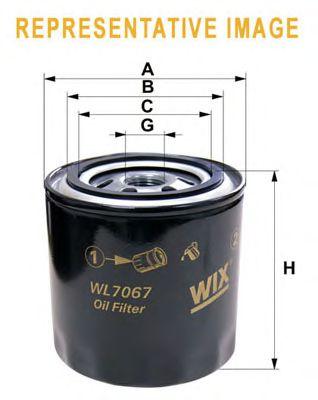 Масляный фильтр WIX FILTERS WL7137