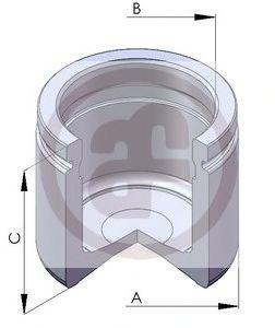 Поршень тормозного суппорта AUTOFREN SEINSA D02586