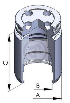 Поршень тормозного суппорта AUTOFREN SEINSA D025241