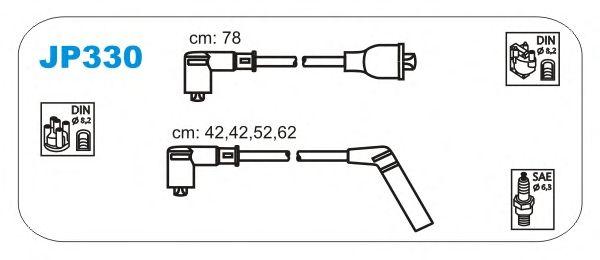 Комплект высоковольтных проводов JANMOR JP330