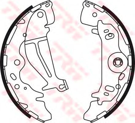 Тормозные колодки TRW GS8774