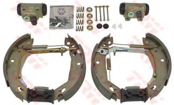 Тормозные колодки TRW GSK1057