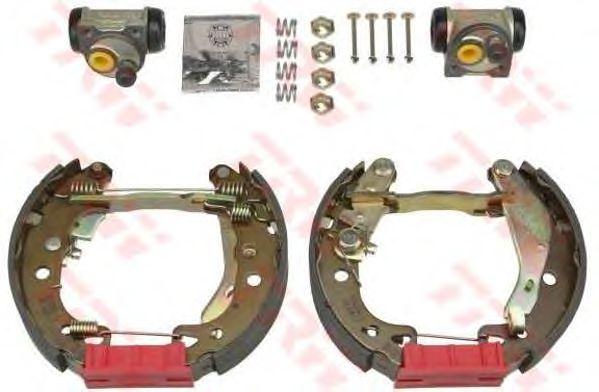 Тормозные колодки TRW GSK1139