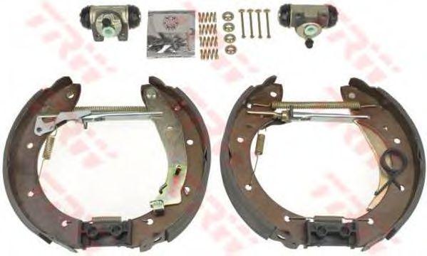 Тормозные колодки TRW GSK1150