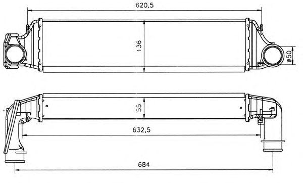 Интеркулер NRF 30119