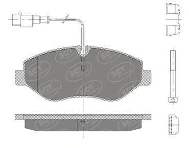 Тормозные колодки SCT Germany SP 416