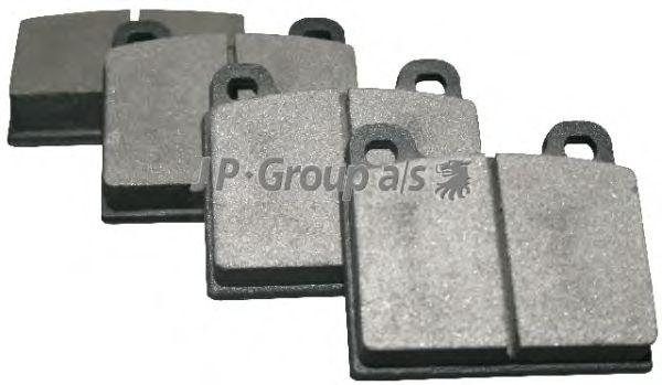 Тормозные колодки JP GROUP 1163601210