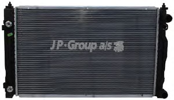 Радиатор, охлаждение двигателя JP GROUP 1114204600